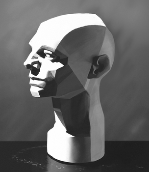 Study - John Asaro Planes of the Head by fivetinsoldiers