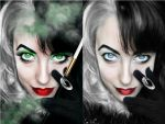 ~ before and After Cruella ~ by BooBooFish