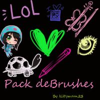 Pack de Brushes PS by kittymoon23