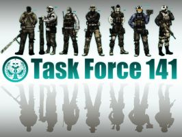 MW2: Task Force 141 by zerokaiser