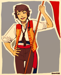 Rouvere: Enjolras outfit  by student-yuuto