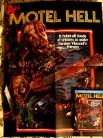 Motel Hell Blu Ray and Poster by slasherman