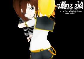 [MMD] Rolling Girl Motion Data DL by JuuRenka