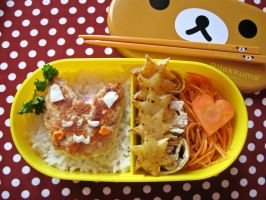 my first bento by Mirrelley