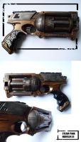 Steampunk NERFGUN III by Talfox