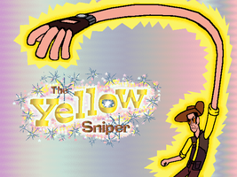 Yellow Sniper stretching by CyberneticCupcake