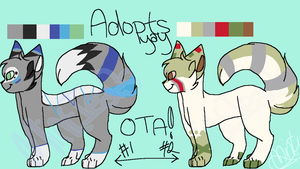 OTA Cat Adopts .:OPEN 2/2:. by MintIeafs