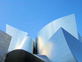 Disney Concert Hall by nitingarg