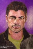 Karl Urban     Colored Pencil by lemgras330