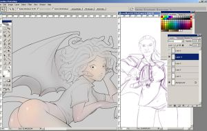 Commission wip20120306 by bokuman