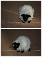 The Crocheted: Sheep by janey-in-a-bottle