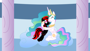 OC Request: Princess Celestia and MotorHead by IronwoodAKACleanser