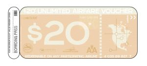 Boarding Pass 20 by ip