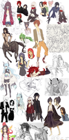 SKETCHDUMP 2012-2013 by noizi
