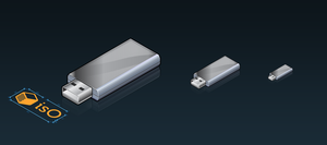isO - usb stick by OliverJanoschek