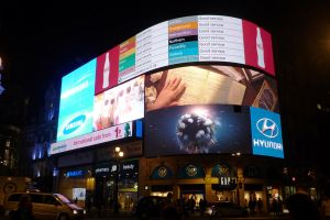 Piccadilly Circus Sitting Down 2 by ggeudraco