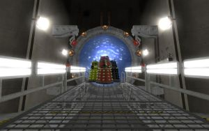 Crossover Of The Daleks by leebyrne