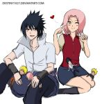 SasuSaku Colouring by Stephens1991