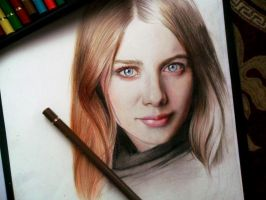 Rachel Hurd - Wood by SofiaAliens