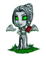 Commission - Chibi Jade Irons by TouchedVenus