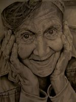 Old lady 1 by Natsanwa