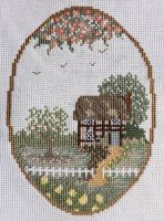 Cottage cross-stitch by Devi-Tiger