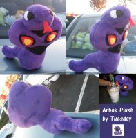 Arbok Plush by Glacdeas