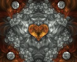 The Amber Heart by HBKerr