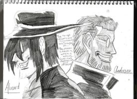 Alucard and anderson by bubble-blower1991