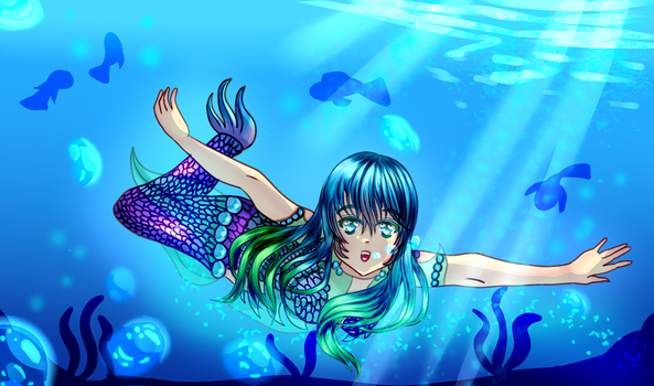 Under the Sea by Spark1eFountain