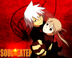 Soul Eater: Maka And Soul - WALLPAPER by Silas-Tsunayoshi