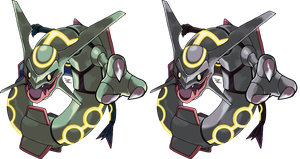 Rayquaza v.3 by Xous54