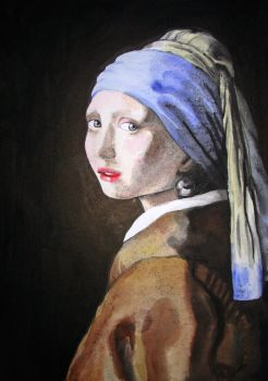 Girl with a pearl earring 1 by Nikapear