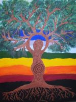 Mother Nature - Tree Goddess by Moonravin