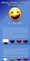 tutorial for a glossy smiley, pt. 4 - big grin :D by mondspeer