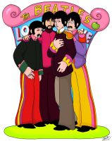 The Beatles LO VE by Spookaboo