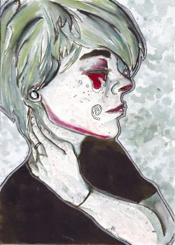 chemical_candy_child watercolor by LypsImagination