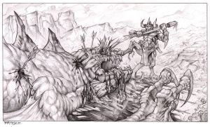 Victory by pencil206