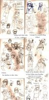 Sketches July '13 - Sept '13 by Frey-ofthe-Arcane