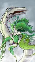 Rydia of Mist by Mictono