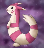 -PKMN- Shiny Furret by pdutogepi