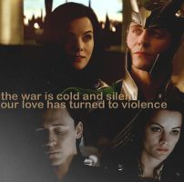 Love Turned to Violence by spikeysgrl18