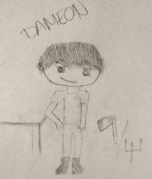 Dameon: Son of... Just Wait for the Bio. Portrait by Iris9999