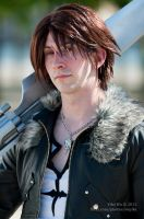 Squall Leonhart - Close Up 2 by SketchMcDraw