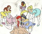 Princess Party Pg 7 By Pink Diapers-rough coloring by megabluex