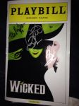 My playbill from Wicked by Artistic-Bliss