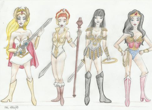 Super Womans by Marthabr