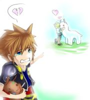 Can you make Sora happy? by Weaseless