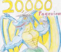 20,000 Pageviews by DragonMaster616