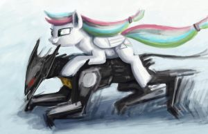 Spectrum Riding Wolf by Dahtamnay